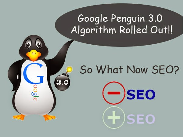 Google Penguin-3.0-Rolled-Out